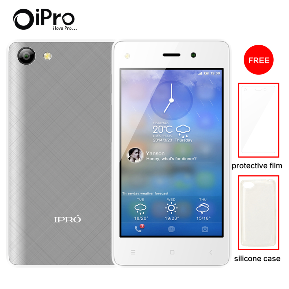 Free Phone Case Film IPRO WAVE 4 0 II Quad core Celular Android 5 1 Unlocked