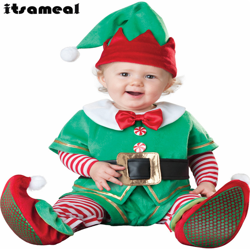 Baby Boy Toddler Christmas clown Movie Character Cosplay