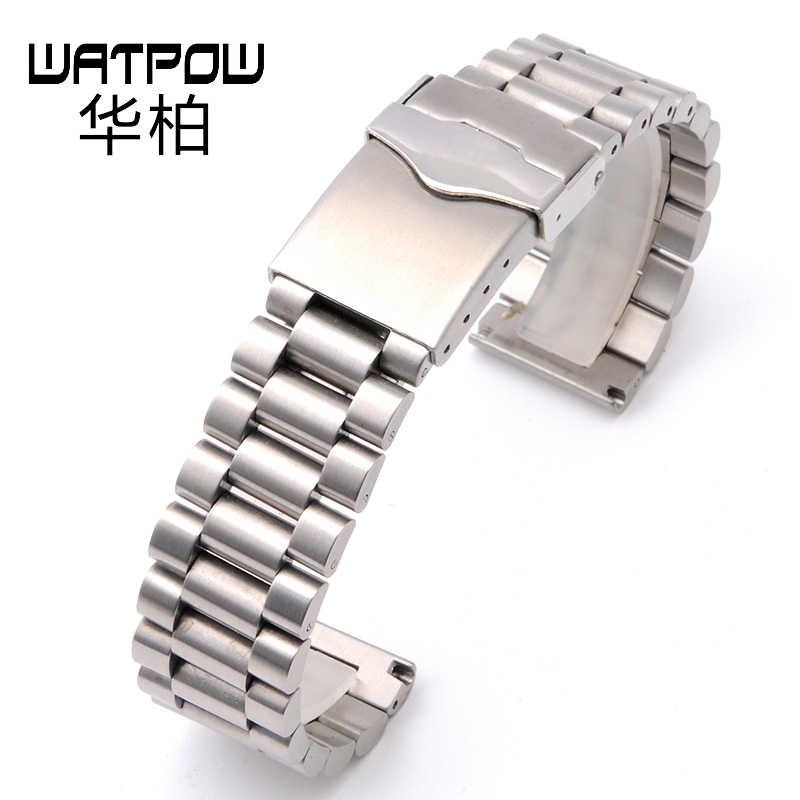 Аксессуары для часов 20 мм Замена серии junjue sea prince princess мужской 79910 прочный тонкий стальной браслет 22