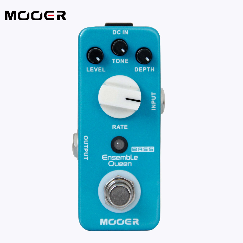 2017 NEW MOOER Ensemble Queen Bass Chorus pedal True Bypass status mooer ensemble queen bass chorus pedal true bypass guitar effect pedal