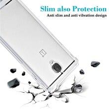 Жесткого материала PC phone чехол для один плюс 3 3 т с полной 4 углах защиты задняя крышка shell для oneplus 3 т 3 clear case