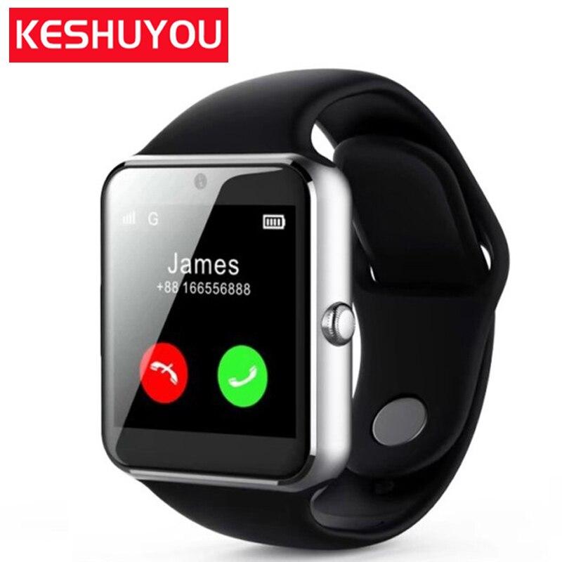 Keyou q7s Smart Watch ES смартфон Smart Watch Android камера SIM функция сообщения напоминание Смарт Wacht Android 5.1