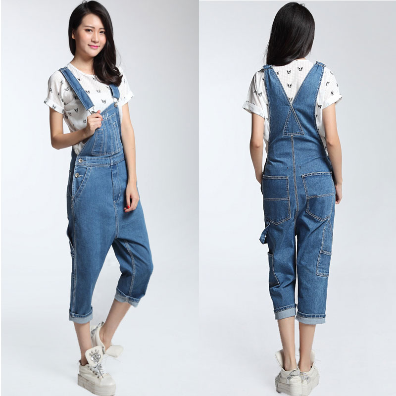 Compare Prices on Denim Capri Overalls- Online Shopping/Buy Low ...