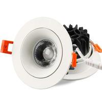 20 W 30 W CONDUZIU a lâmpada downlight COB LED spot 220 V/110 V teto rebaixado downlights 8 pçs/lote