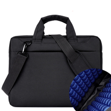Bolsa de ordenador portátil 17.3 17 15.6 15 14 13 12 pulgadas de Nylon airbag hombres bolsos de la computadora de moda bolsos de hombro de Las Mujeres bolsa de Mensajero portátil