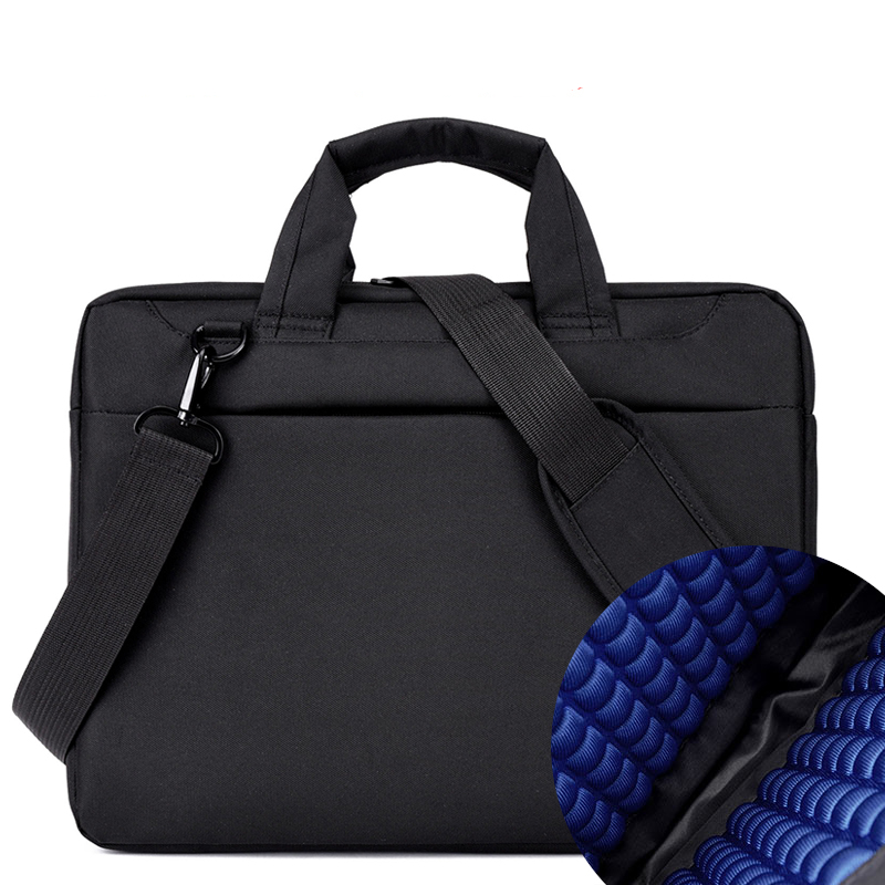 Laptop bag 17.3 17 15.6 15 14  13 12 inch Nylon airbag  men computer bags fashion handbags Women shoulder Messenger notebook bag tsai chin taipei