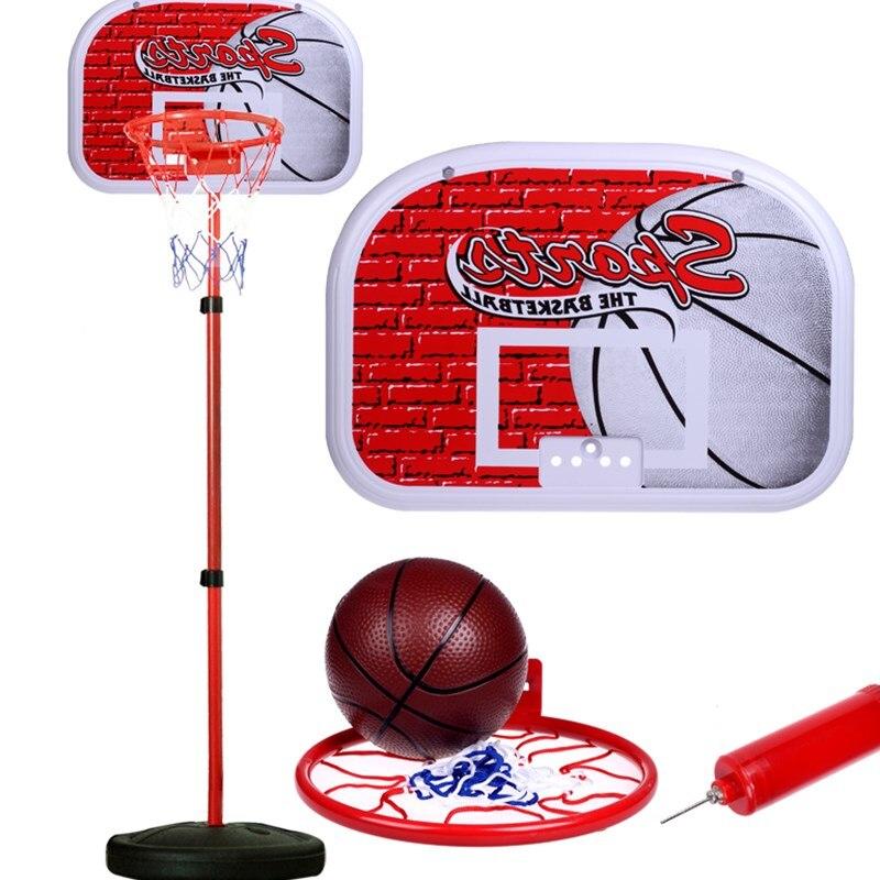 Kinderen Opknoping Basketbal Stand Indoor Mini Verstelbare Opknoping Basketbal Hoepel Board voor Kids Spel Basketbal Ballen