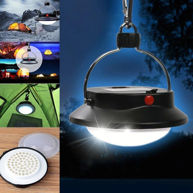 1PC 60 LEDs 3 Mode Bivouac Portable Sailing Camp Lantern Lamp Durable Outdoor Camping LED Light CLH@8