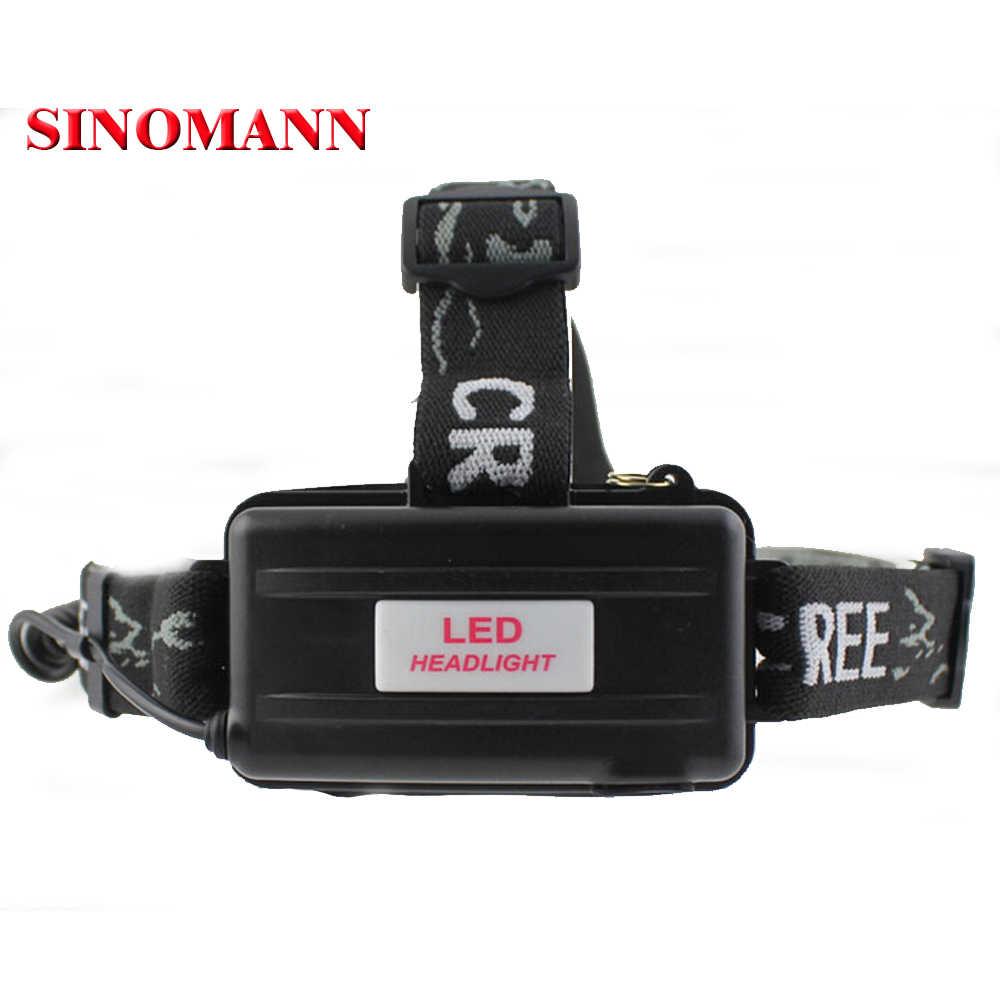 3-modi 2000 Lumen Fahrrad Lampe CREE XM-L T6 K11 LED Scheinwerfer Fahrrad Kopf XML Lichter + 2*18650 batterie + Ladegerät + Auto Ladegerät
