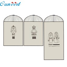 Home Outer Dress Suit Clothes Garment Cover Case Dustproof Storage Bags Protector Levert Dropship mar9(China)