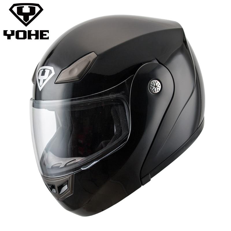 YOHE-YH-FF-936 High-grade Genunie Road Racing Helmet retro motorcycle Helmet casque moto single visor Motorbike Flip up helmet 1000m motorcycle helmet intercom bt s2 waterproof for wired wireless helmet
