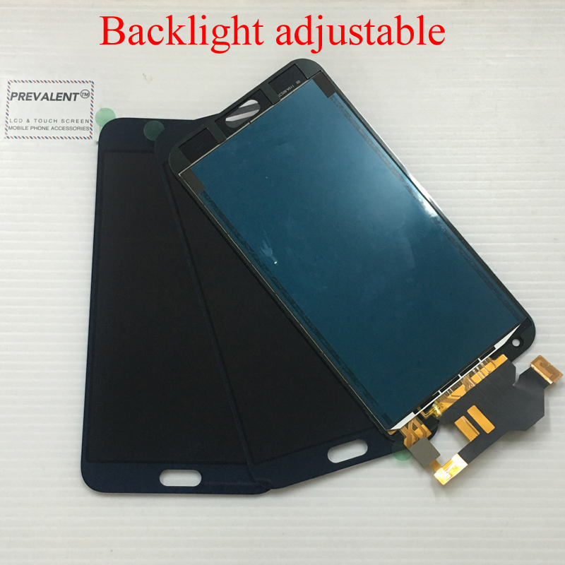 Adjustable For Samsung Galaxy E7 E700 E700F E7000 E7009 Touch Screen Panel Digitizer Sensor Glass + LCD Display Panel Assembly