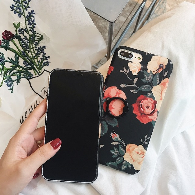 360 Vintage Phone Ring Case For iPhone