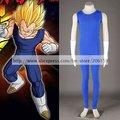 Dragon Ball Vegeta 2nd Men's Cosplay Costume for Halloween Men Sport Suit  Halloween Costume