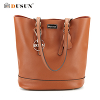 DUSUN Women Handbag Genuine Leather Women Bag 2016 New Luxury Brand High Quality Bag Casual Tote