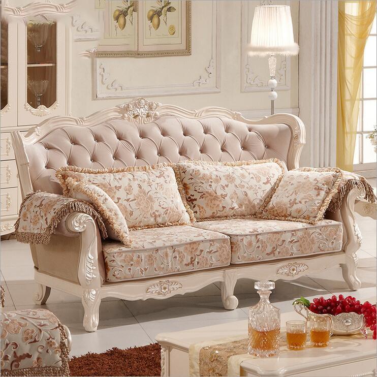 living room furniture modern fabric sofa European sectional sofa set p10193