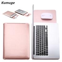 PU Leather Laptop Sleeve Bag For Xiaomi Mi Air 12 5 13 3 Laptop Carry Bag