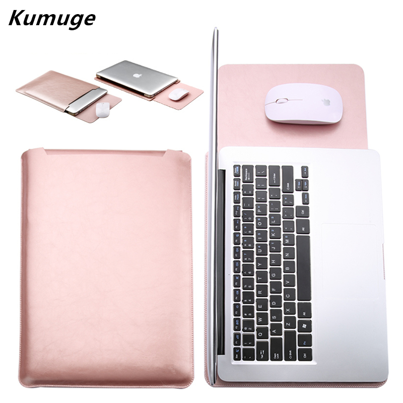 PU Leather Laptop Sleeve Bag for Xiaomi mi Air 12.5 13.3