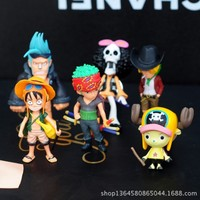 YZ car perfume one piece cartoon doll cool styling outlet air freshener 6pcs/lot