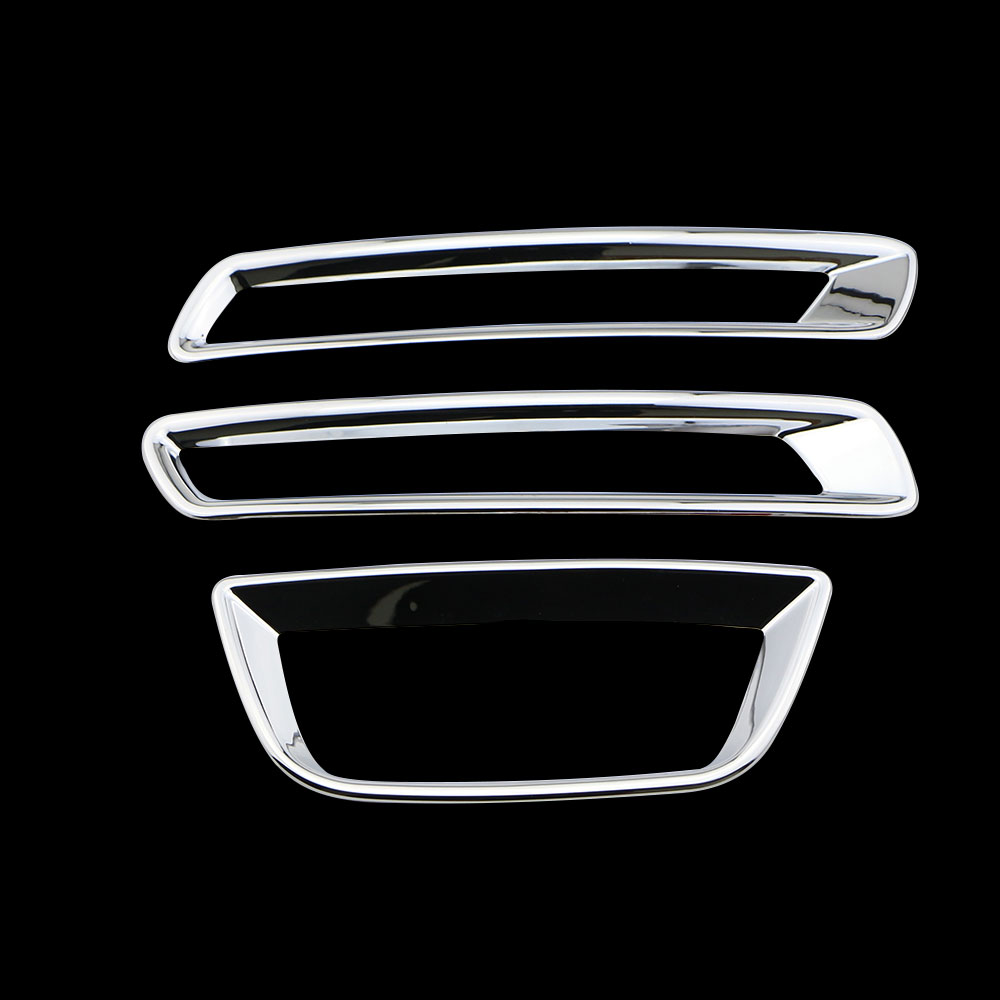 Rear Fog Lamp Fog Light Fog Lights ABS Chrome Cover Trim Sticker For Chevrolet Chevy Malibu 2012 2013 2014 2015 Car Accessories