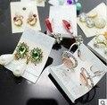 freeshipping!DHL FREE  2015 new arrival ,Korean Fashion Earrings 1000 pair a mixed bag mixed lots, 1000pair/lot