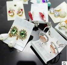 freeshipping!DHL FREE new arrival ,Korean Fashion Earrings 1000 pair a mixed bag mixed lots, 1000pair/lot