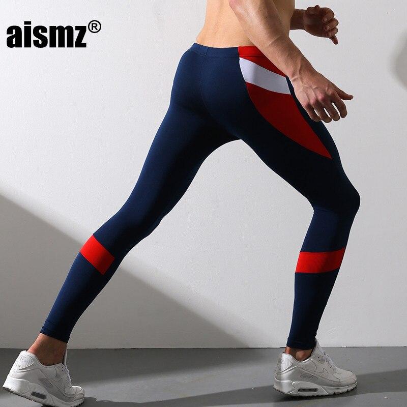 Aismz Men's Tight Long Johns Legging Pant Fashion Warm Trousers Pants Render Underpants Man Fine Velvet Trousers Winter SP170802