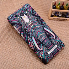 Case For Xiaomi Redmi Note 3 Cover Plastic Animal frosted relief For Redmi Note 3 Pro