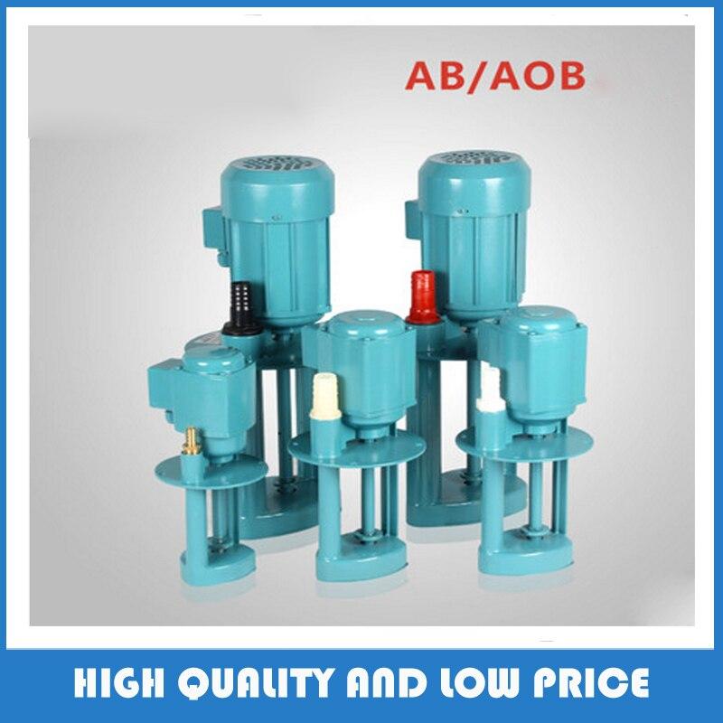 AB-12/40W 380v three phase Vertical machine coolant pump for lathe machine