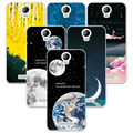 FOR Micromax AQ5001 Couple Style Phone Case Space Stars Fantasy Art Print Back Cover For Micromax AQ 5001 AQ5001 Fundas