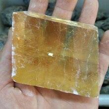 Crystal stone gravel natural obing chau ishihara furnishing articles block calcite ore body teaching specimens