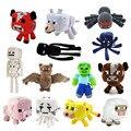 Minecraft Brinquedos De Pelúcia 13 Estilos Brinquedos Brinquedo Macio Stuffed Animal Boneca Crianças Jogo Dos Desenhos Animados Presente Das Crianças Frete Grátis