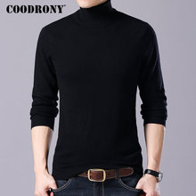 COODRONY Brand Sweater Men Casual Turtleneck Pull Homme Autumn Winter 100% Merino Wool Sweaters Warm Cashmere Pullover Men 93004 coodrony brand sweater men 100