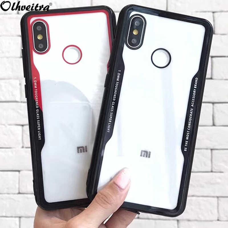 Мягкие TPU акриловая крышка ПК для Xiaomi mi 8 SE mi 8 mi 8 Explorer версии случае производства чехол для Xiaomi mi Mix 2 S красный mi S2