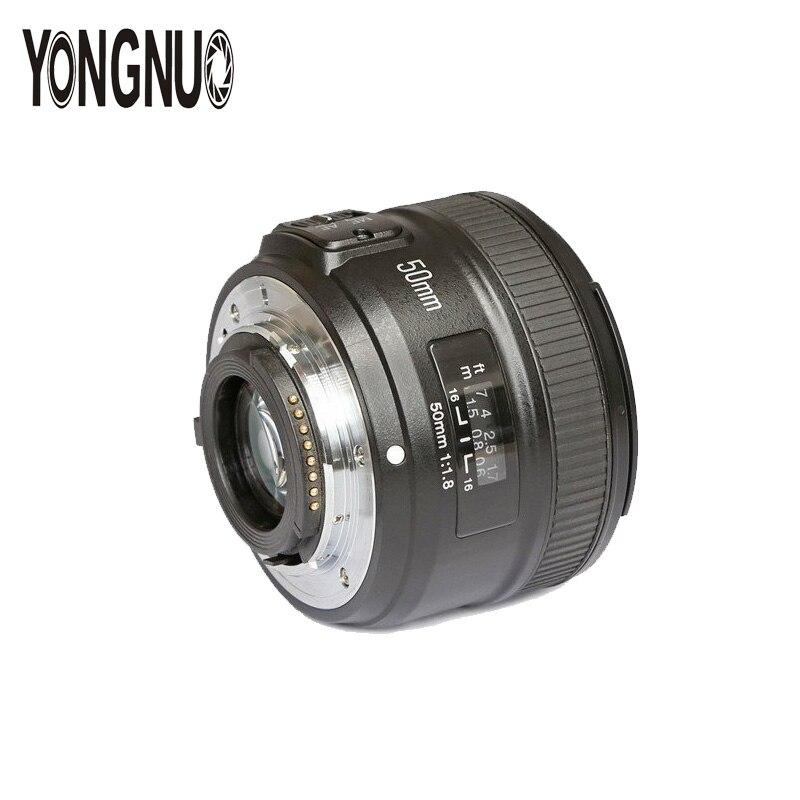 YONGNUO YN50MM F1.8 Grande Ouverture Auto Lentille de Focalisation Pour Nikon D800 D7000 D7100 D700 D3200 D3300 D5100 D5200 D5300 Appareils PHOTO REFLEX NUMÉRIQUES