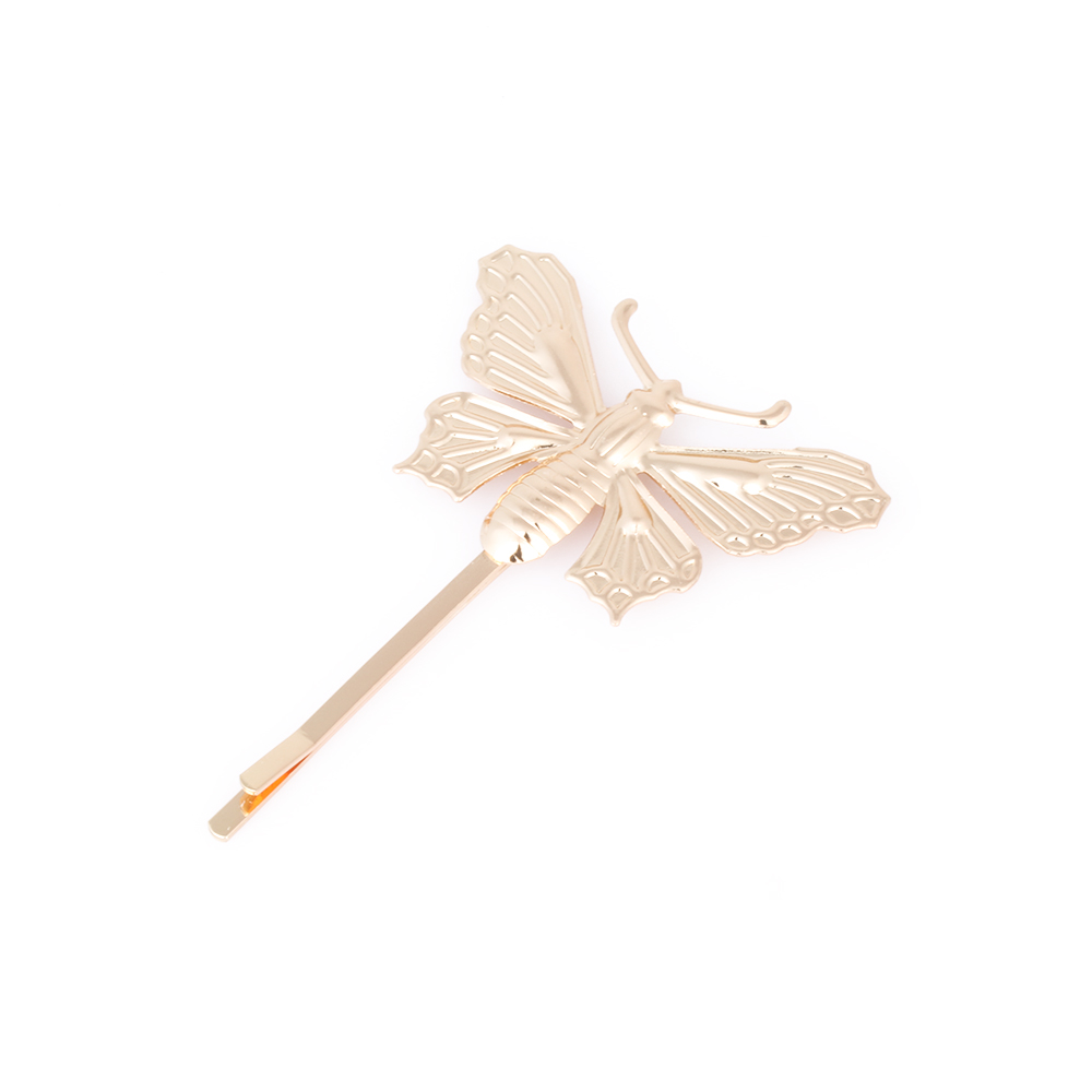 Butterfly hair accessories for weddings uk - Butterfly Hair Accessories For Weddings Uk Online Shop 1pc Silver Gold Butterfly Leaf Hairpin Golden