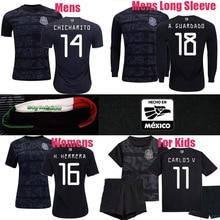 c32abf6d9 2019 new sport shirt mexico soccer jerseys LOZANO CHICHARITO CARLOS V LAYUN  gold cup football shirt