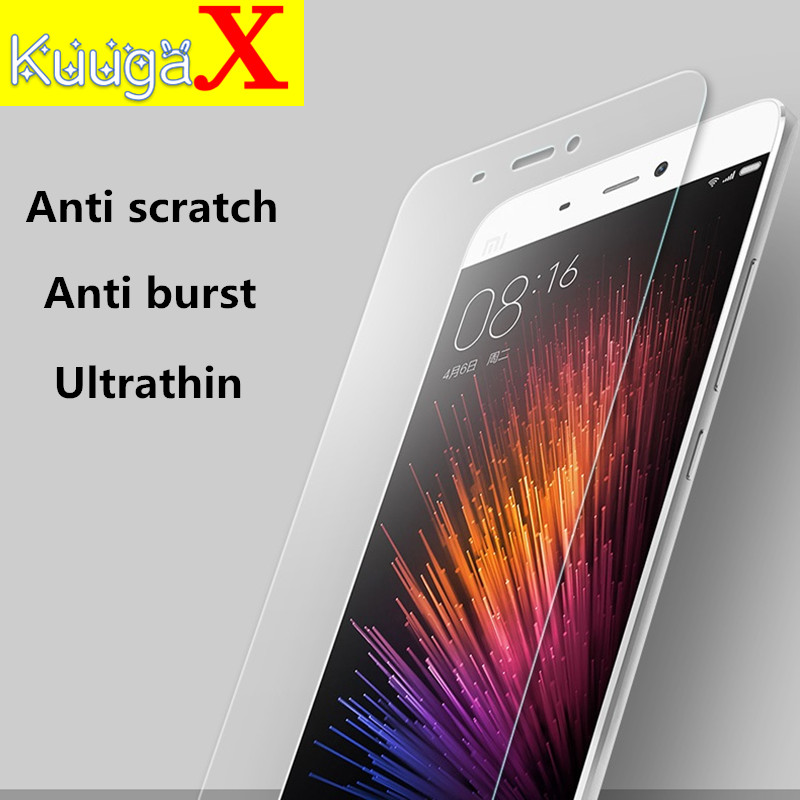Screen protective cover Tempered Glass 9H For cover 5.5 inch xiaomi Red 5 5X 5A pro 5 X smartphone toughened case on crystals