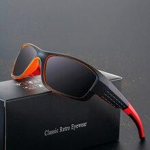 ASUOP 2019 new fashion square mens polarized sunglasses retro classic brand design ladies glasses UV400 driving punk goggles