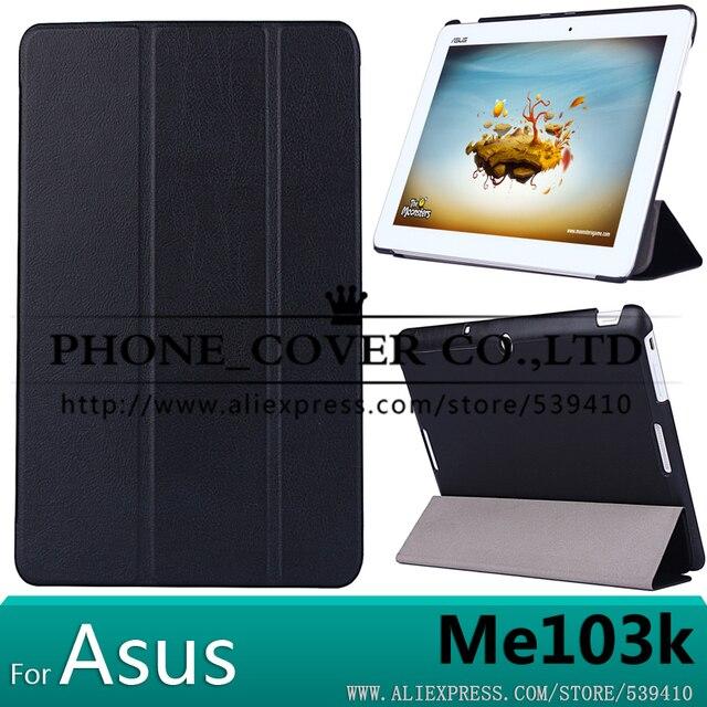 Роскошные Магнит стенд pu кожаный Чехол Чехол для Asus Memo Pad 10 ME103K 10.1 tablet крышка случая + протектор экрана + стилус