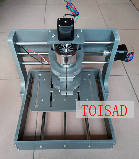 Mini DIY 2020B Frame Rack Engraving Machine CNC Router PCB Material USB or Parallel Port whole