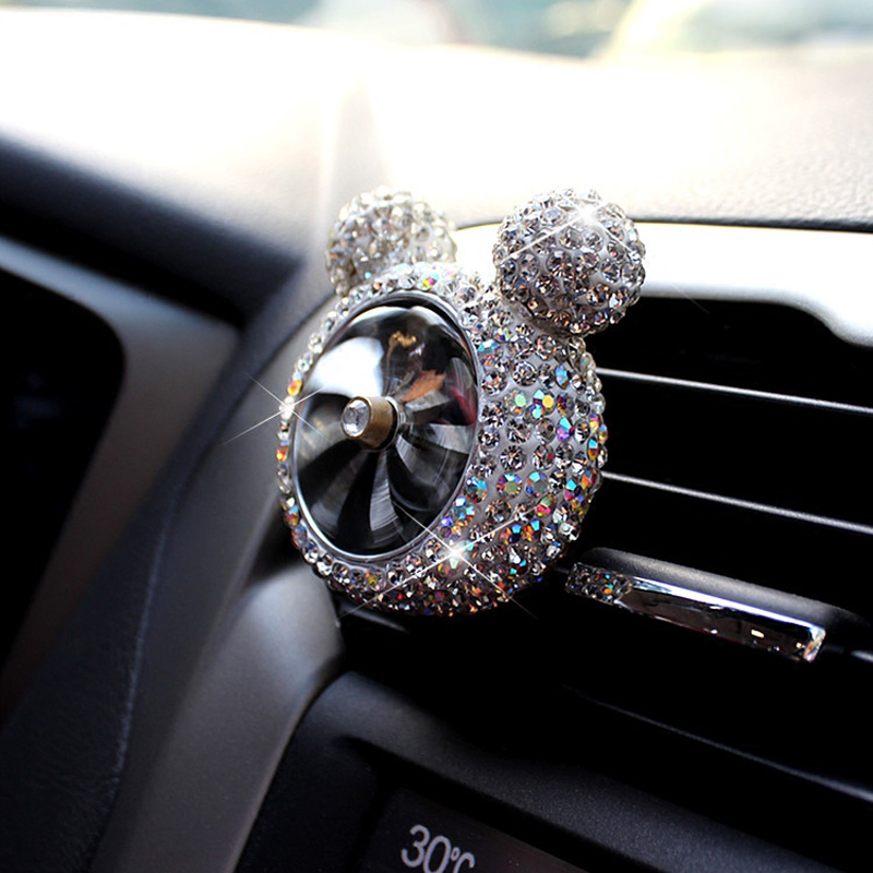 Auto Fastener & Clip Auto Fastener Clip Rhinestone Diamond Car Sun Visor Glasses Sunglasses Folder Card Clip Storage Holder Accessories For Girls To Have A Long Historical Standing Interior Accessories