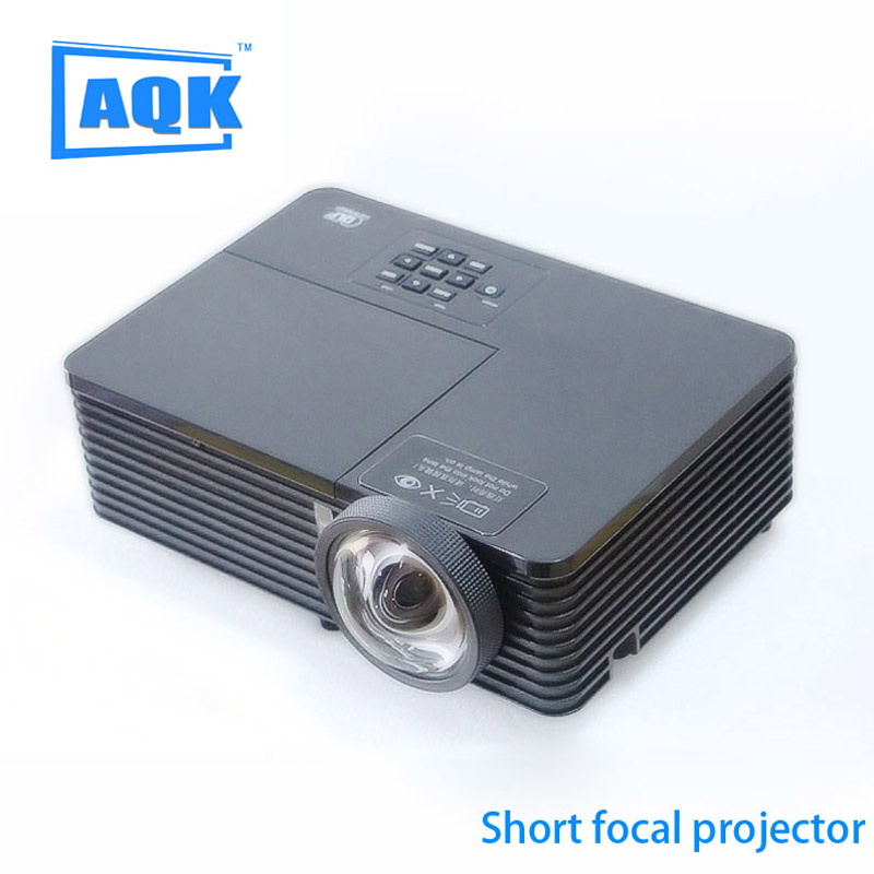 WATCO 6000Lumens Business meeting Education Daylight Video Full HD 1080P Digital 3D DLP Short throw Projector Beamer Proyector