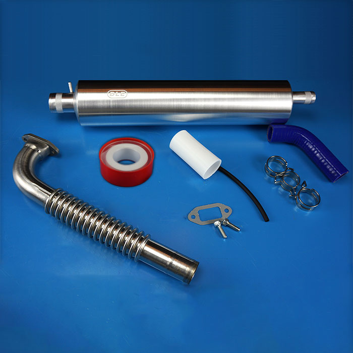 Original DLE Muffler Canister Set With Smoke For DLE111 111cc gas engines Sky fly