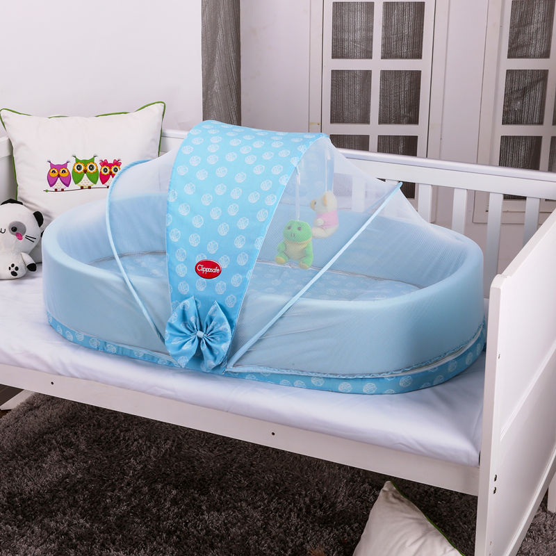Multifunctional folding baby Cot band mosquito baby bed