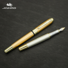 Buy Jinhao250 quality metal luxurious Pens Exquisite Ink Pen Calligraphy Writing Tools Gift Pens for School  Stationery Gift Pen directly from merchant!