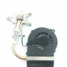 Original free shipping Cooler for HP CQ42 CQ62 G42 G62 cooling heatsink with fan 606609-001 607084-001