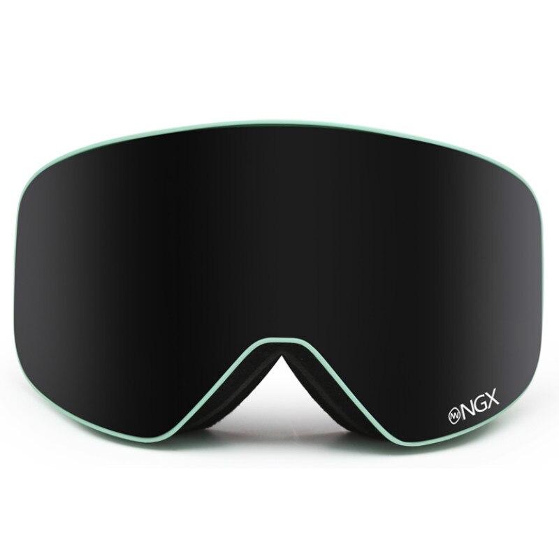 Nandn Профессиональный Для мужчин и Для женщин Очки для лыжного спорта двойной Слои лыжные очки большие сферические antimist ветрозащитный Лыжны...
