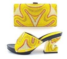 แฟชั่นอิตาลีผู้หญิงจับคู่รองเท้าและชุดกระเป๋าสำหรับงานเลี้ยง,รองเท้าที่มีคุณภาพสูงและกระเป๋าที่กำหนดไว้สำหรับงานแต่งงาน(Szie: 37หรือ43)! MQ1-17
