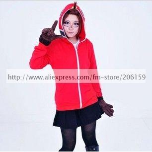 Vocaloid Matryoshka Gumi אדום מעיל התלבושת - תחפושות